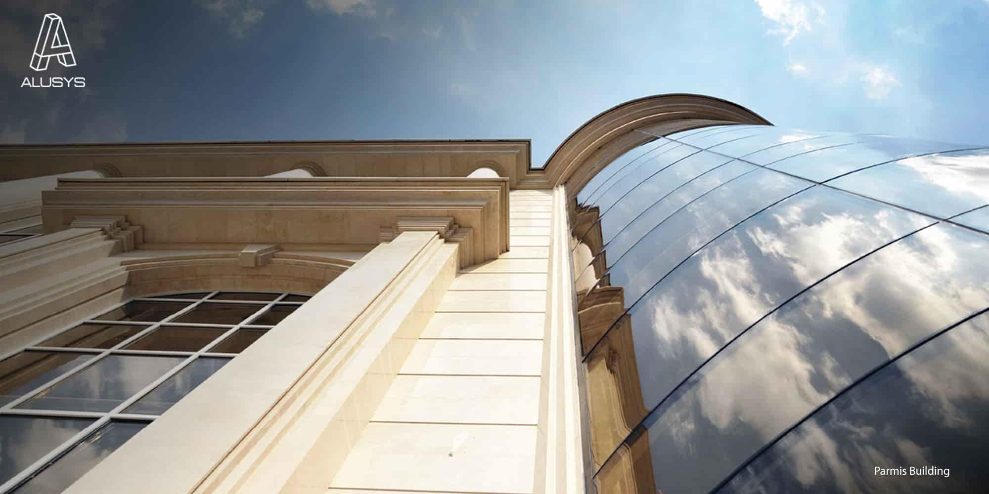 آلوسیز نمای ساختمان