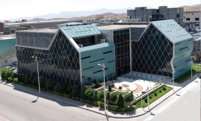 alusys curtain wall and louver project